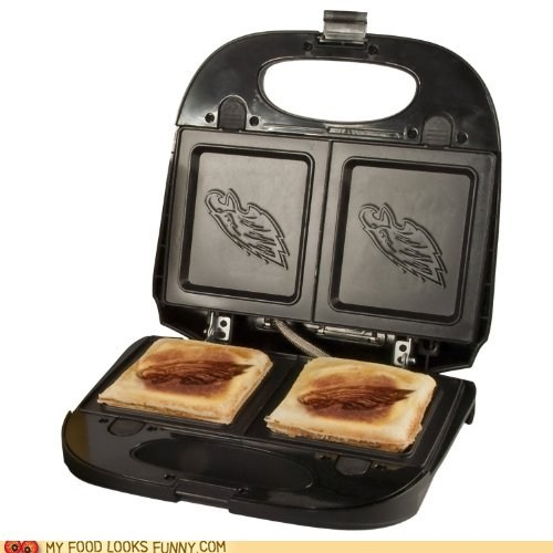 football imprint logo sandwich maker super bowl team - 5688885760
