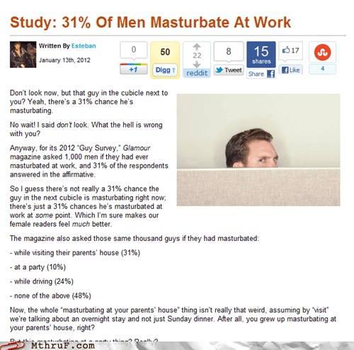 holy-crap-really masturbating at work studies - 5689155072