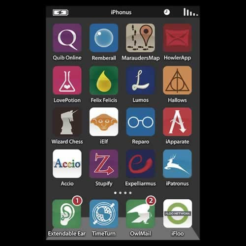 App AutocoWrecks g rated Hall of Fame Harry Potter iphone screen wizardry wizards - 5689196544