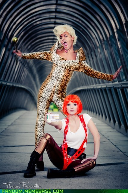 cosplay leeloo movies the fifth element - 5689464320