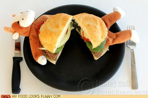 burger,cow,meat,plate,Plush,toy
