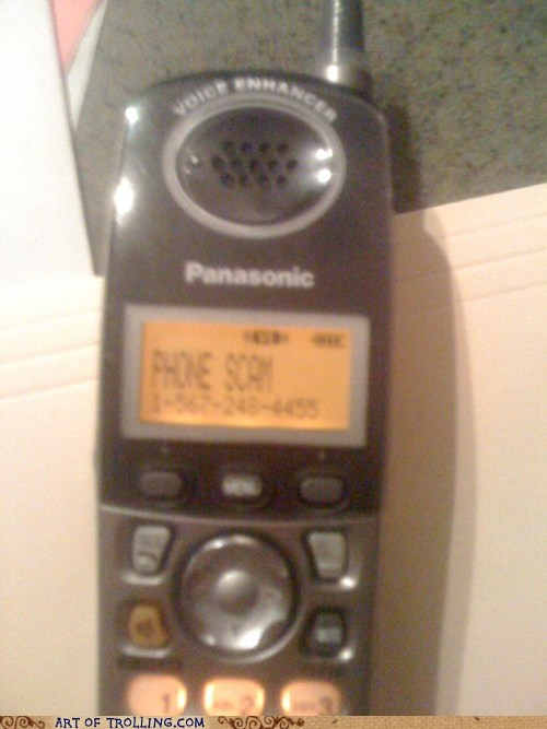 caller ID,IRL,phone,scam