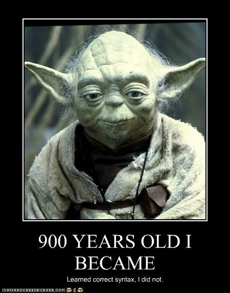900 years old correct star wars yoda - 5690748672