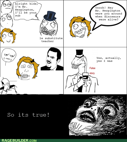 false story,Rage Comics,raisin face,truancy story