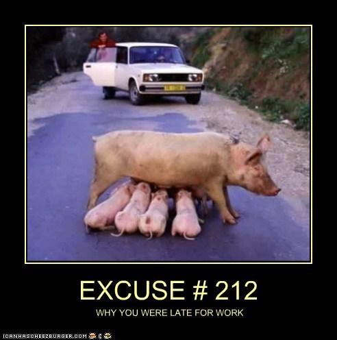 EXCUSE # 212