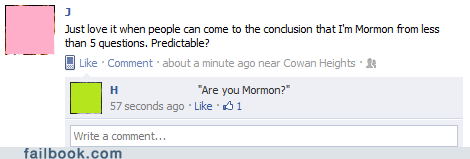 mormon,question