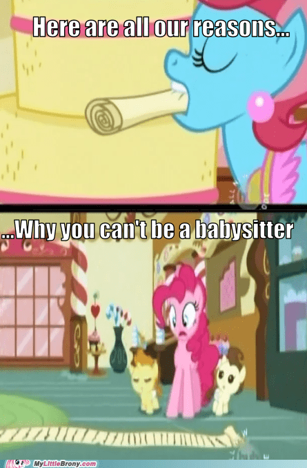 babysitting comic comics new episode pinkie pie responsibility - 5692408576