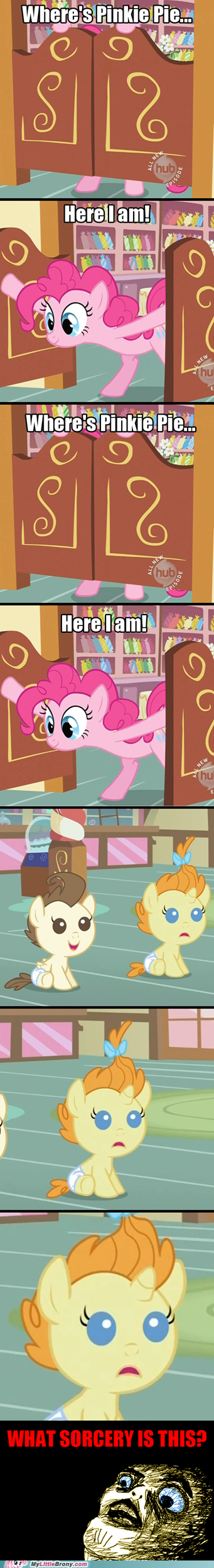 baby cakes best of week comics here i am pinkie pie what sorcery is this - 5692735232
