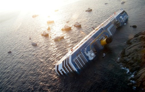 Costa Concordia Cruise Liner Crash Titanic Two - 5692863744