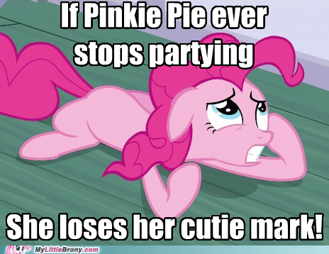 cutie mark Party pinkie pie TV - 5693002752