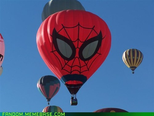 Hot Air Balloon,It Came From the Interwebz,marvel,Spider-Man