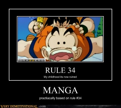 Dragon Ball Z hilarious manga Rule 34 - 5693629184