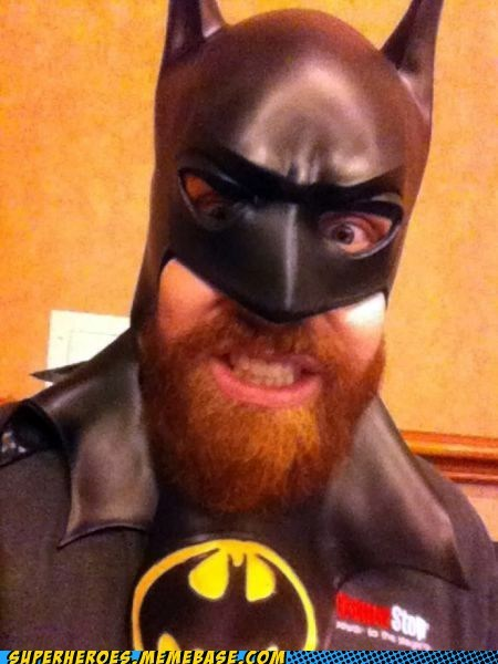batman beard mask Super Costume - 5693972224