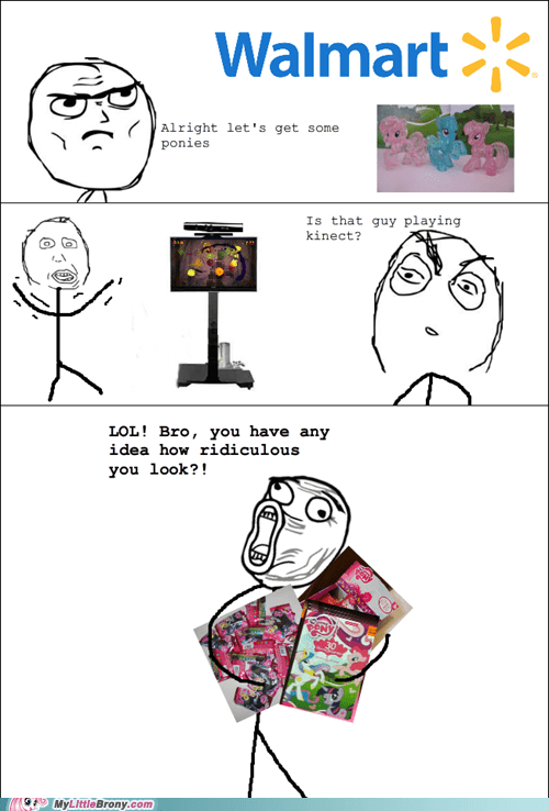 demo kinect my little pony Rage Comics Walmart - 5694406144