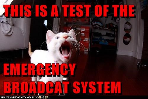 THIS IS A TEST OF THE EMERGENCY BROADCAT SYSTEM