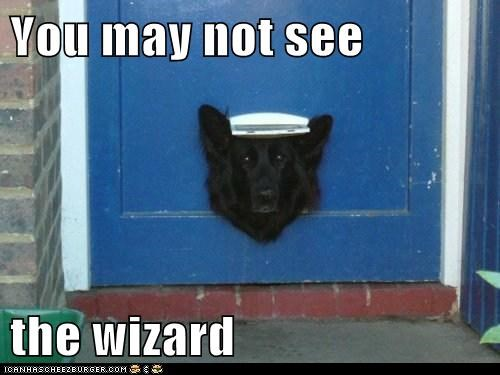 You may not see the wizard