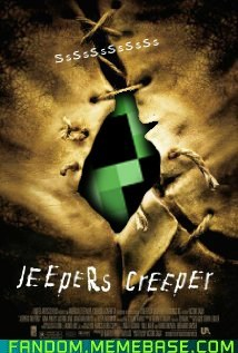 creeper,crossover,Fan Art,jeepers creepers,minecraft