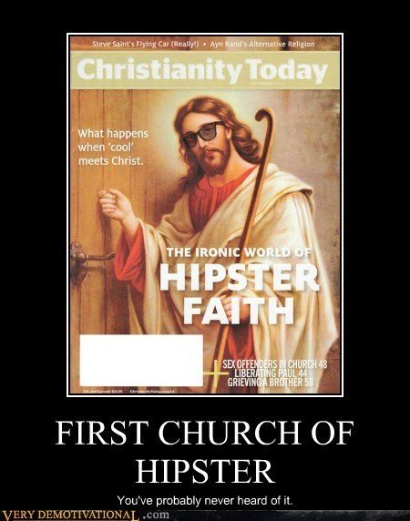 church hilarious hipster jesus wtf - 5694639872