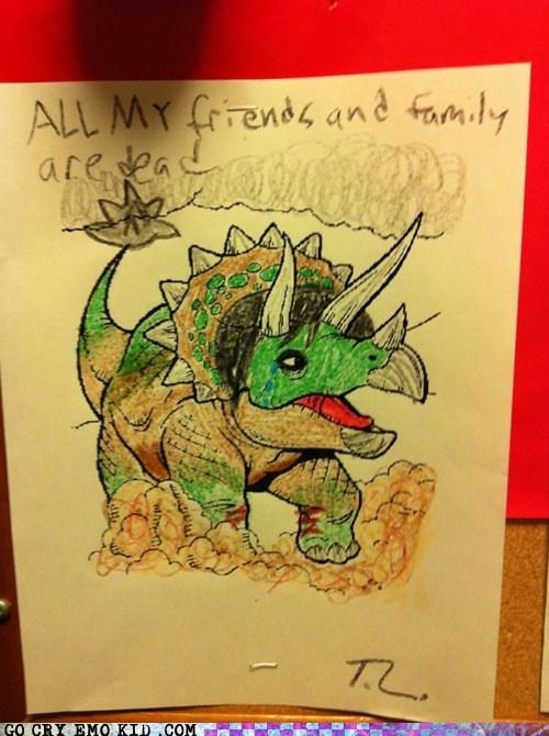 dead,emo,emolulz,triceratops
