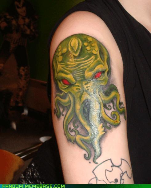 body mod cthulu Fan Art tattoo - 5695594240