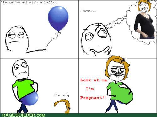 balloon me gusta pregnant Rage Comics - 5696288256