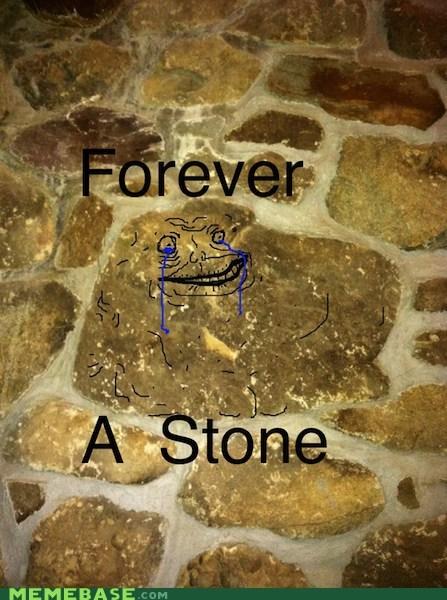 boulder forever alone stone - 5696540416