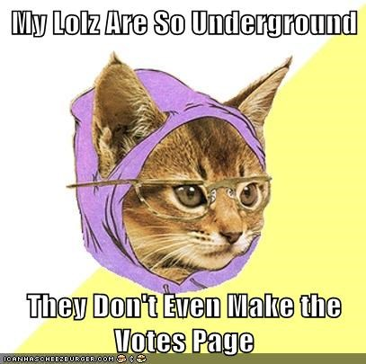 front page Hipster Kitty underground vote page - 5696705792