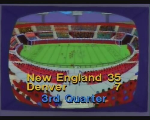 Denver Broncos new england patriots nfl Simpsons Did It - 5696952576