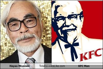 colonel sanders funny Hayao Miyazaki TLL - 5697246464