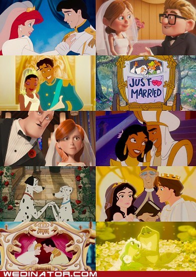 animation,disney,funny wedding photos