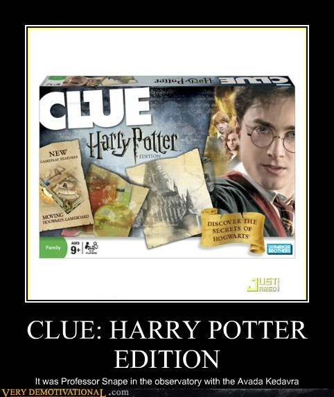 clue Harry Potter hilarious snape - 5697582592