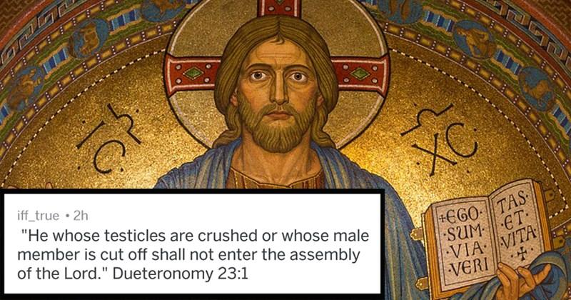 crazy bible verses