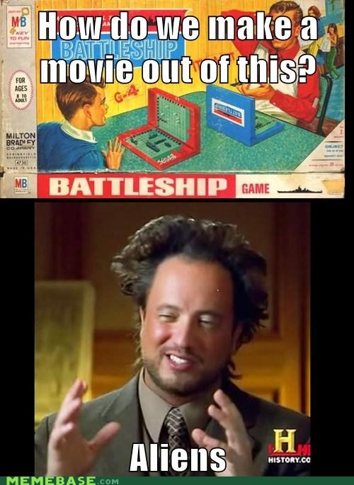 ancient aliens,battleship,hollywood,movies