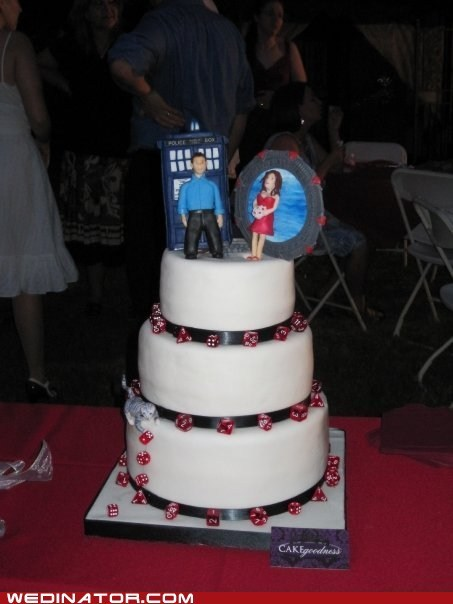 dice doctor who funny wedding photos geek Hall of Fame tardis - 5698032640