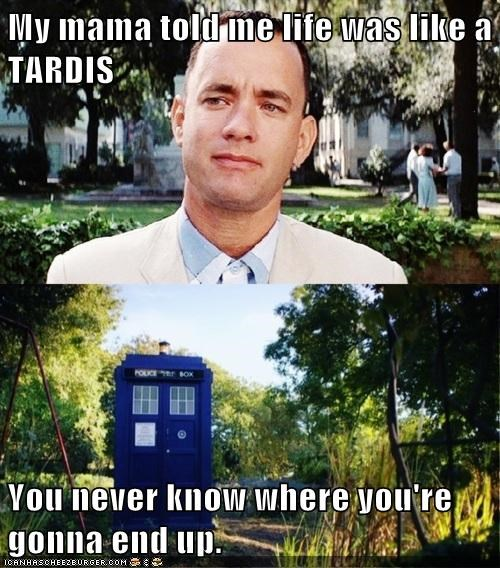 doctor who,funny,tardis,tom hanks