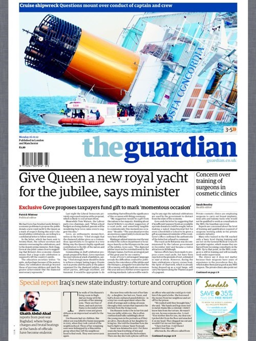 cruise,juxtaposition,oh England,Probably bad News