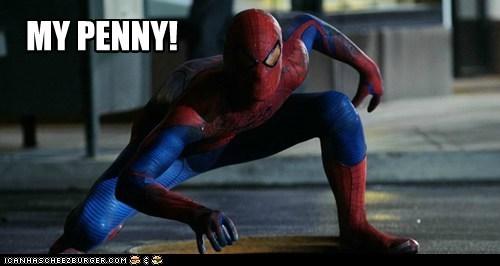 andrew garfield Awkward found penny pose Spider-Man spidey the amazing spider-man - 5698503168
