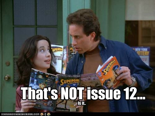 That's NOT issue 12... Is it..