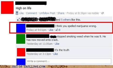 drugs facebook high weed - 5698518016