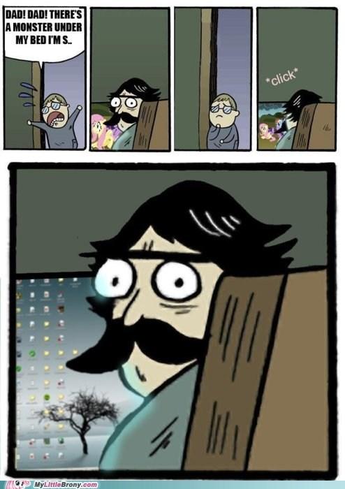best of week,brony dad,hide the ponies,meme,stare dad