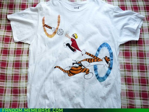 calvin and hobbes crossover Fan Art Portal video games