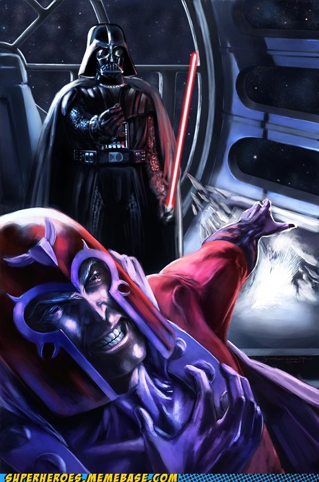Awesome Art darth vader mageneto star wars x men - 5699354112