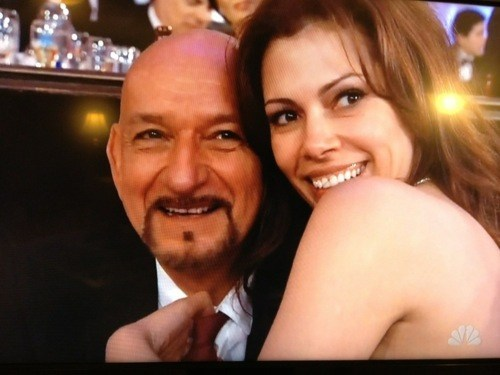 Golden Globes: Sir Ben Kingsley