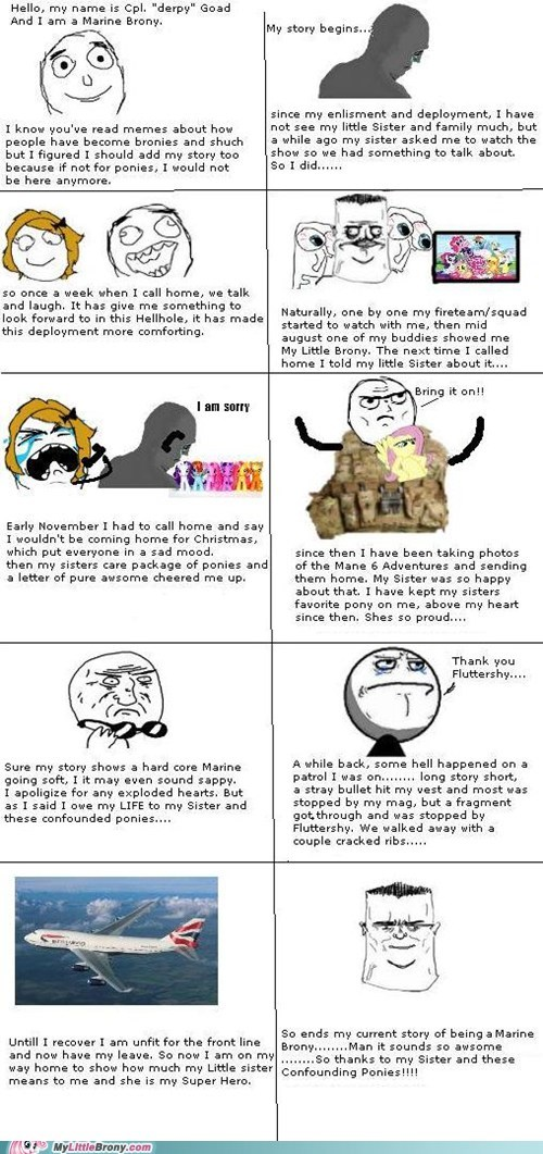 awesome best of week brony brony story marine rage comic Rage Comics - 5699593984