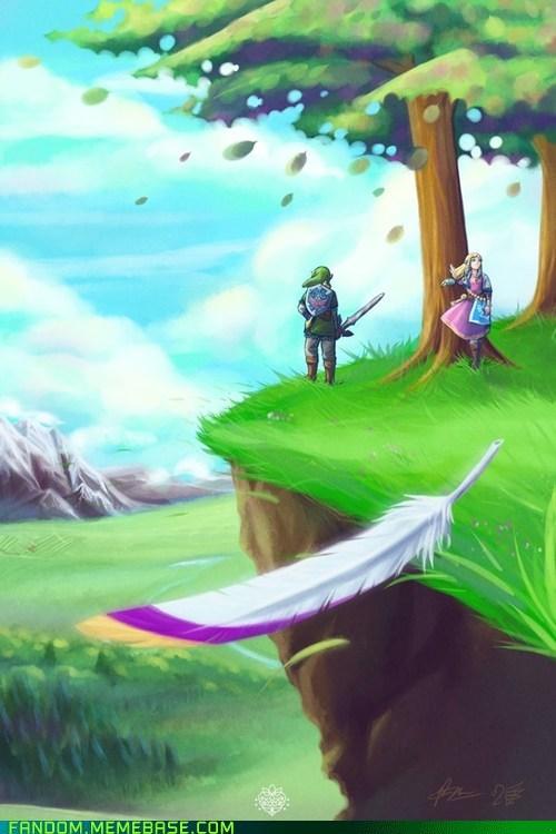 Fan Art legend of zelda link video games zelda - 5699861760