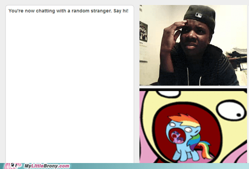 Bronies,my little pony,Omegle,wtf