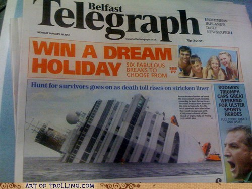 crash cruise holiday IRL - 5700088832