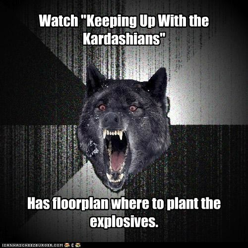 explosives floor plan insane Insanity Wolf Keeping Up With the Kardashians the kardashians wolves - 5700202496