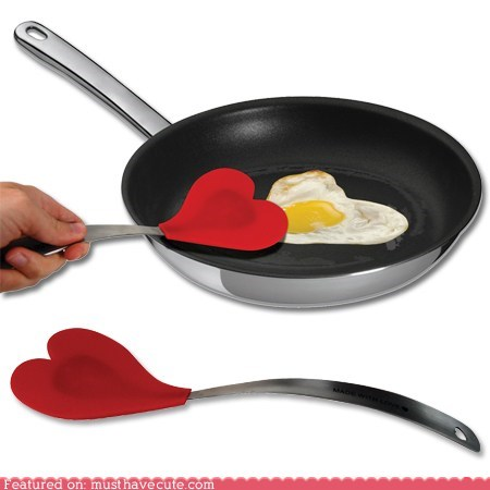 cooking heart kitchen spatula utensil Valentines day - 5700342784