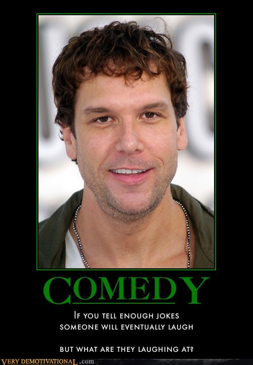 dane cook is terrible not funny Sad